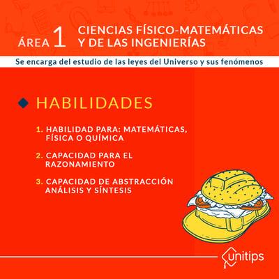 Área 1: Ciencias físico-matemáticas y de las ingenierías