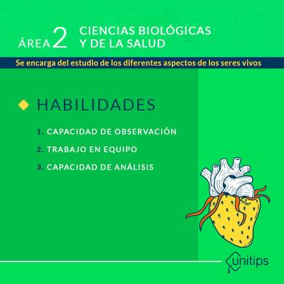 Área 2 - ciencias biológicas y de la salud