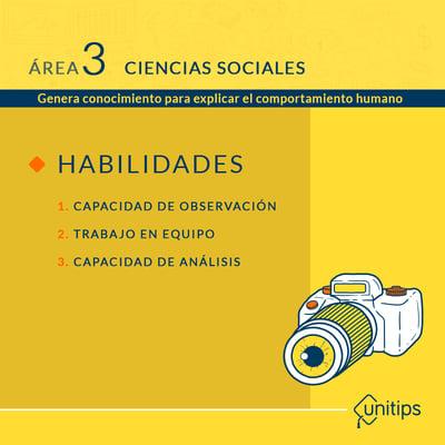 Área 3 - ciencias sociales