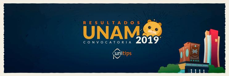 Resultados del examen UNAM 2019