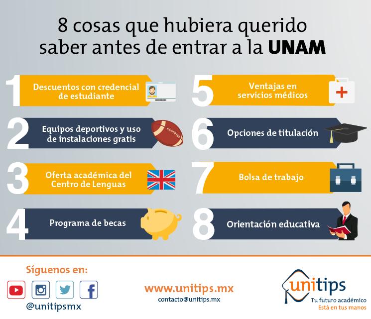 8 cosas que hubiera querido saber antes de entrar a la UNAM