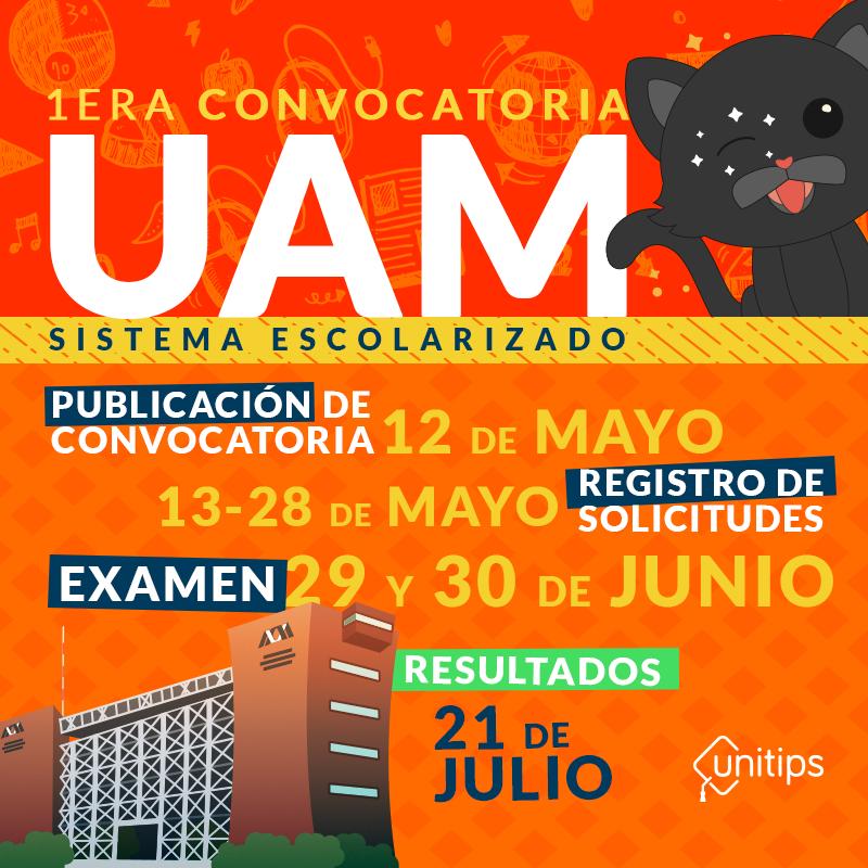 Convocatoria UAM 2019 [Mayo]