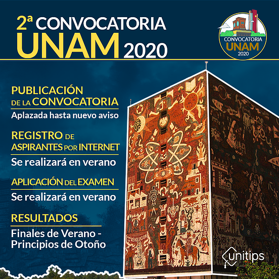 Infografía-2da-Convocatoria-UNAM-2020-3
