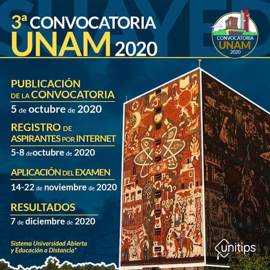 Infografía-3ra-Convocatoria-UNAM-2020-13