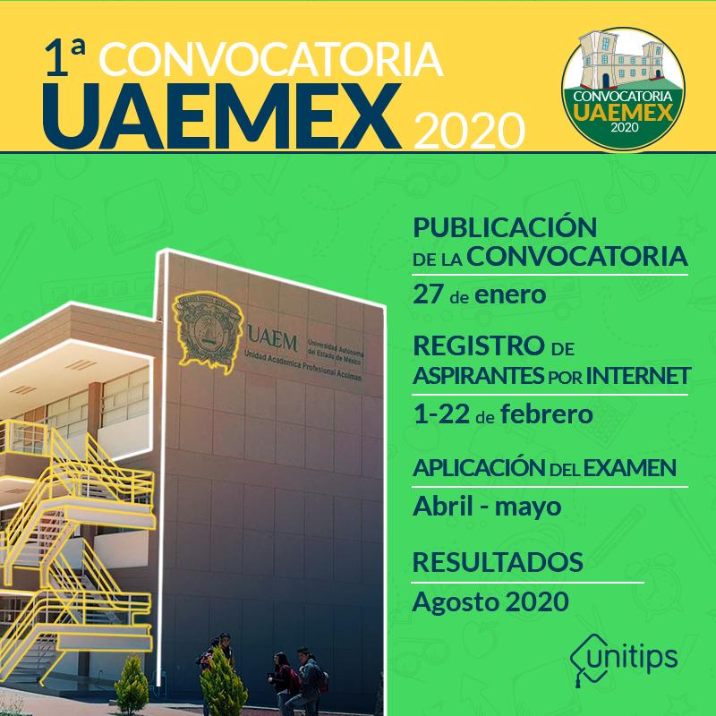 Convocatoria UAEMex 2020