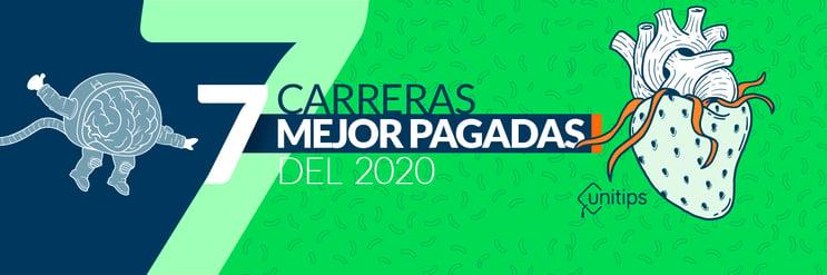 Las 7 carreras mejor pagadas de México