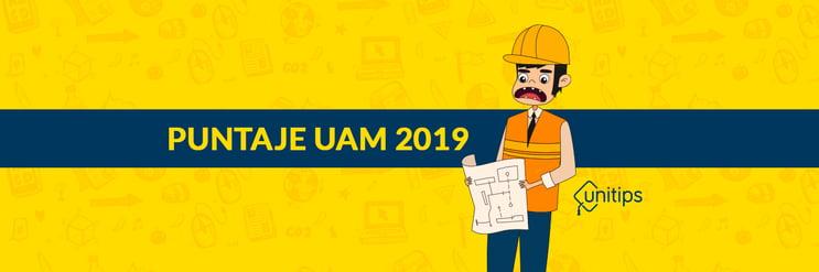 Puntaje UAM 2020