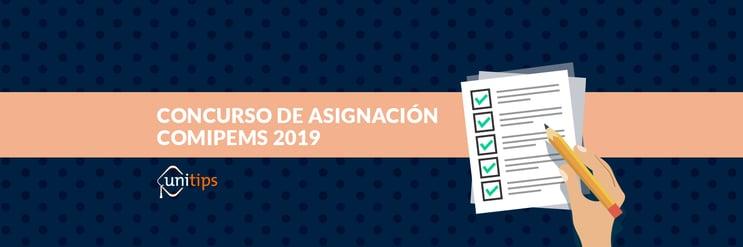 Concurso de asignación COMIPEMS 2019: Guía para padres