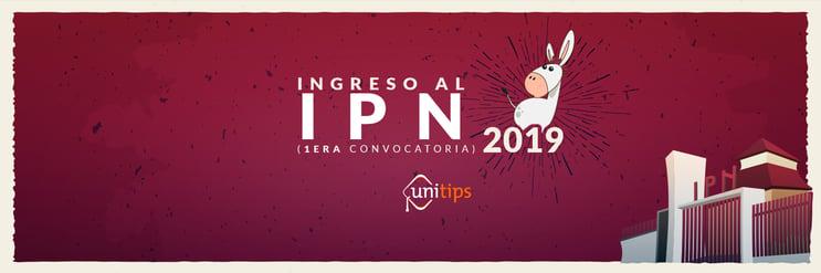 Primera convocatoria IPN 2019