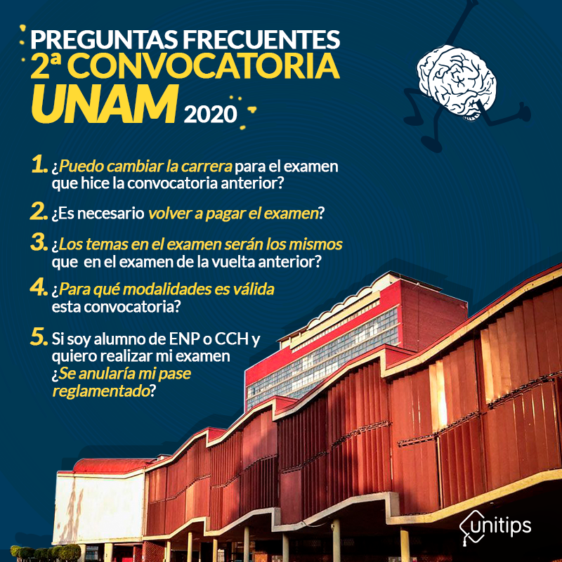 Preguntas-frecuentes-Convocatoria-UNAM-2020