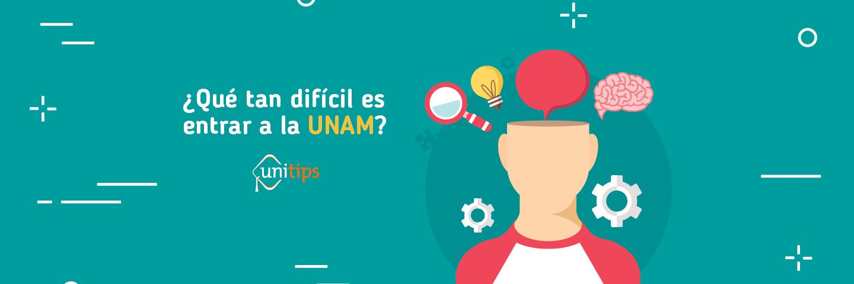 ¿Qué tan difícil es entrar a la UNAM?