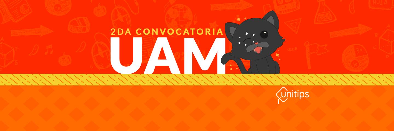 ▷ Segunda Convocatoria UAM 2019