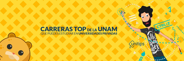 Carreras TOP de la UNAM que puedes encontrar en universidades privadas