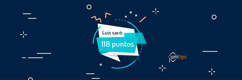 Luis sacó 118 puntos en el examen de la UNAM, ¡Descubre cómo lo hizo!