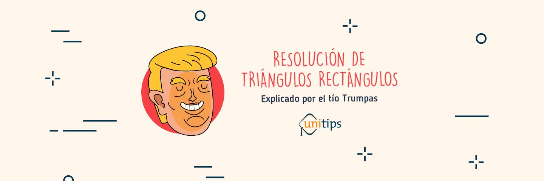 Triángulos rectángulos | Tema de examen UNAM