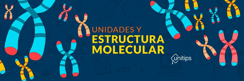 Unidades y estructura molecular | Guía CENEVAL EXANI II