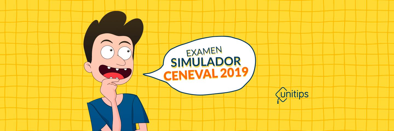 Simulador Examen diagnóstico CENEVAL EXANI II
