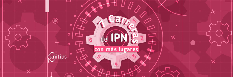 Las 7 carreras del IPN con más lugares