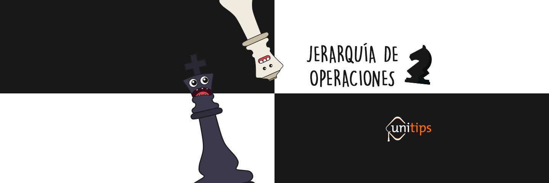 Jerarquía de operaciones | MAtemáticas