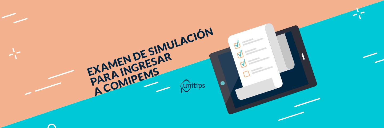 Examen de simulación gratuito para COMIPEMS