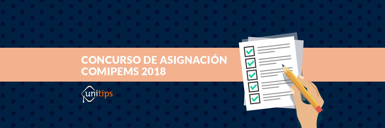 Concurso de asignación COMIPEMS 2018
