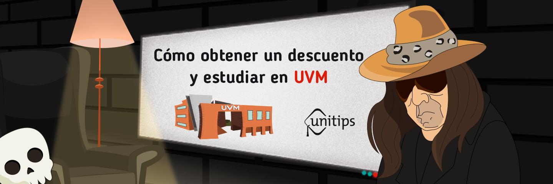 Cómo obtener un descuento para estudiar en UVM
