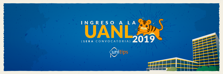 Convocatoria de ingreso UANL 2019