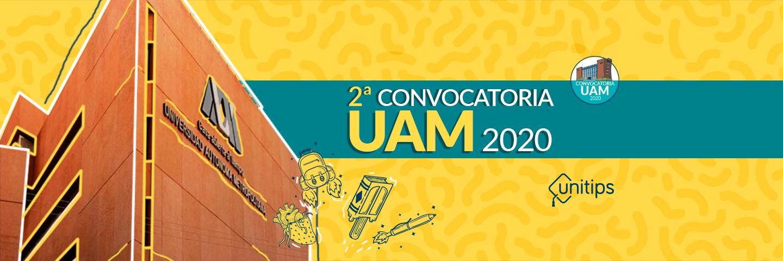 ▷ Convocatoria UAM 2020: segundo proceso de selección