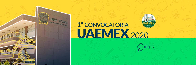 Primera Convocatoria UAEMEX 2020