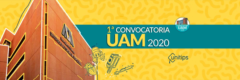 ▷ Convocatoria UAM 2020: primer proceso de selección