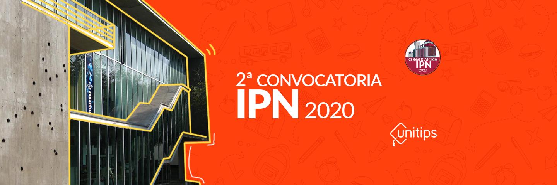 ▷ Segunda convocatoria IPN 2020 examen complementario