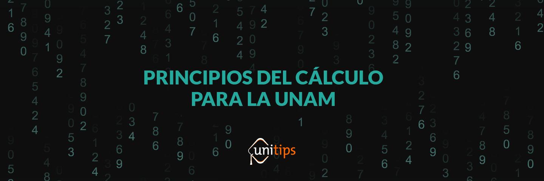 Matemáticas: Principios del cálculo. Guía de temas para el examen de la UNAM