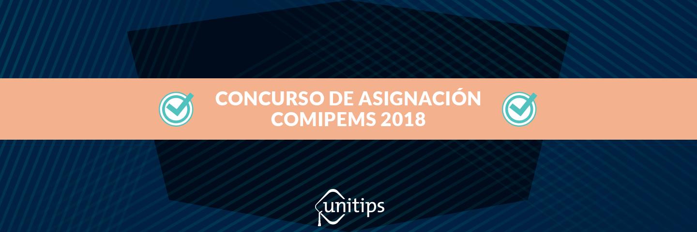 Convocatoria para concurso de asignación COMIPEMS 2018
