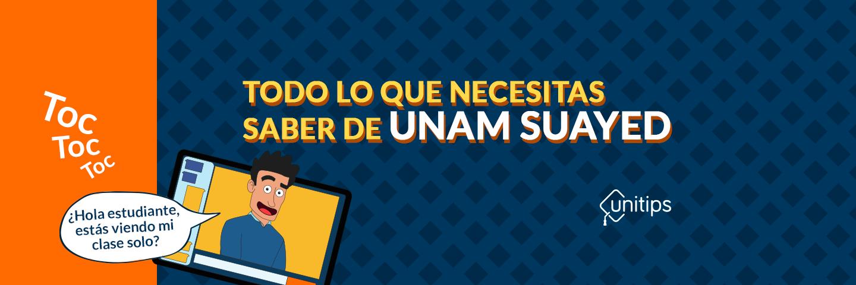 Conoce que es la UNAM SUAyED: Universidad en Línea y Abierta