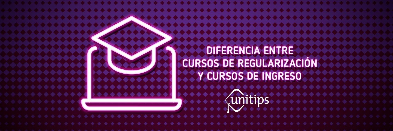 Diferencias entre cursos de regularización y cursos de ingreso