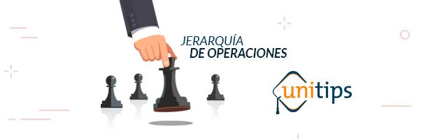 Jerarquía de operaciones | Guía CENEVAL EXANI II
