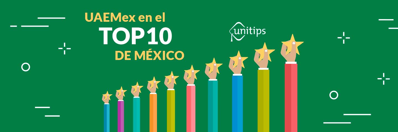 UAEMex, en el top 10 de México