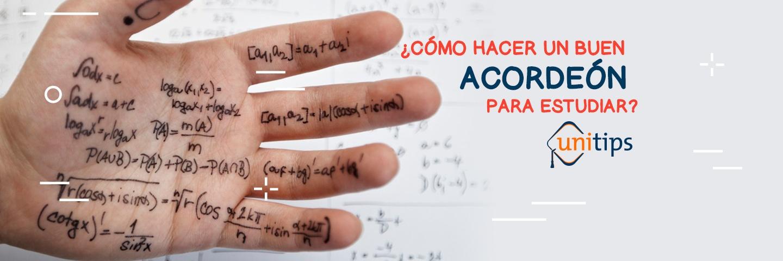 ¿Cómo hacer un buen acordeón de estudio para el examen de la UNAM?