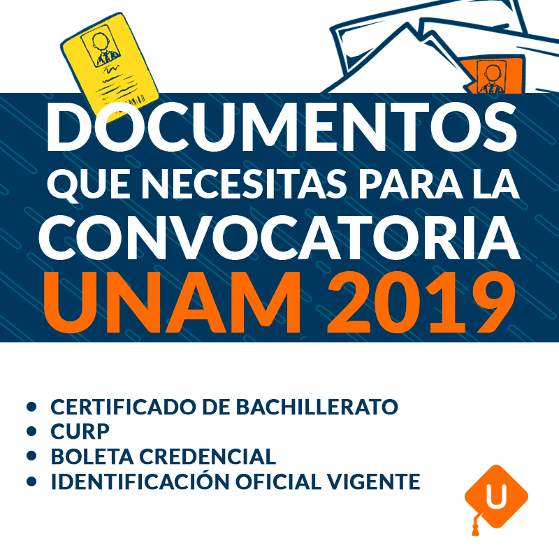 Documentación Segunda Convocatoria UNAM