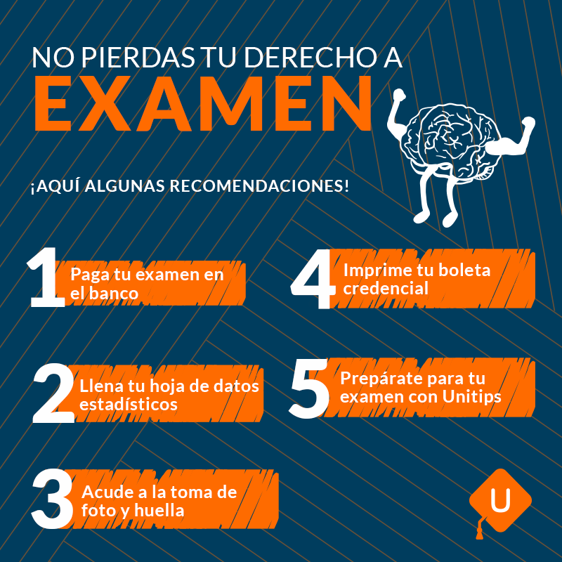 Todo lo que debes de saber para tu examen de la UNAM