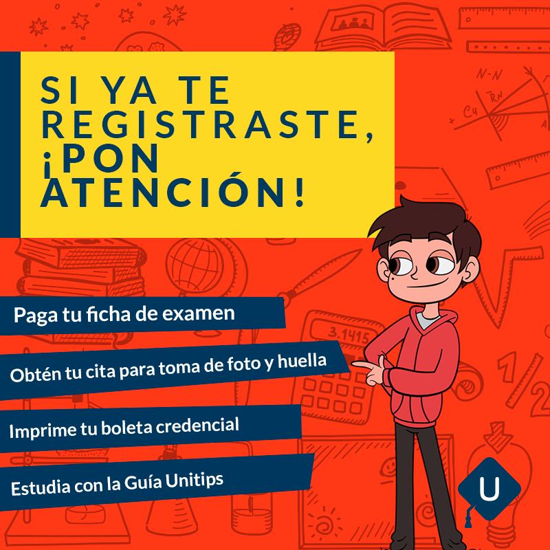 Recomendaciones para no perder tu derecho a Examen UNAM